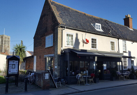 Le Roc, Southwold : A French Café, Flying the Flag For The Languedoc