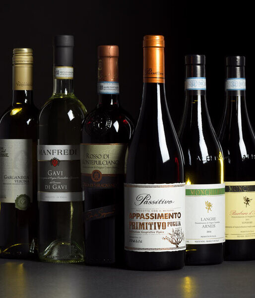 Enjoy a taste of Italy Case deals on a selection of Italian wines